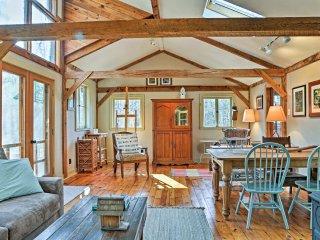 NEW! 2BR Stone Ridge 'Leaf Cottage' on 6 Acres!
