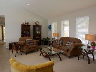 Deluxe Suite: living room