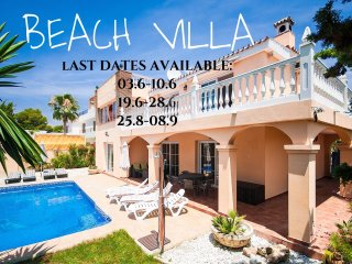 Beach Villa Costanera in Marbella
