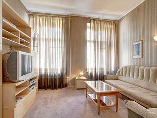 A splendid two-room apartment in the historical center of Saint-Petersburg