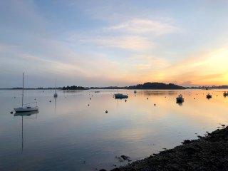 Grande villa, calme, 100 m du Golfe du Morbihan