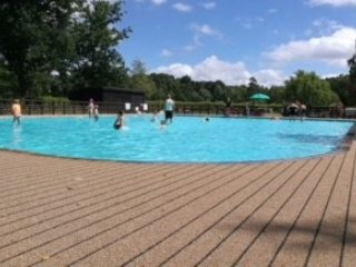 pool area within the country park