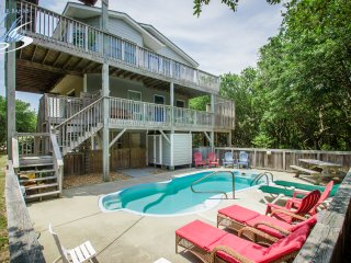 Breaking Winds | 850 ft from the beach | Private Pool, Hot Tub | Southern Shores