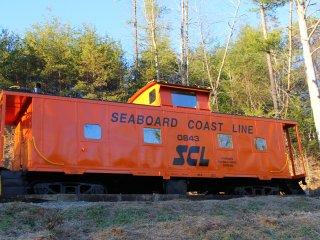 Seaboard Coast Line Caboose #0843