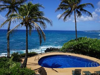 Spectacular Ocean Front Luxury Resort Home in Poipu Beach, Private Pool, Fitness