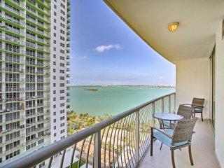 NEW! Luxury 1BR Miami Condo w/Beautiful Bay Views!