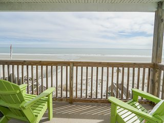 ALL-INCLUSIVE RATES! Shore Magic - Oceanfront, Pool, & Pet Friendly