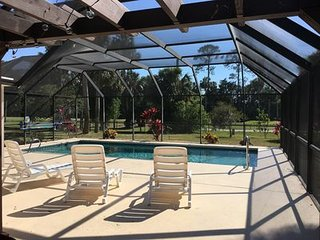 Pool Home On Palm Harbor Golf Club Located Close To Beach