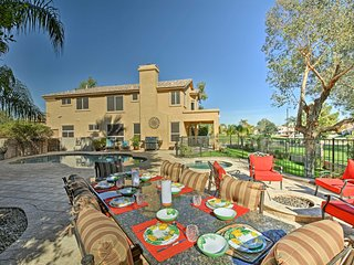Lavish Chandler Home w/ Heated Pool & Private Spa!