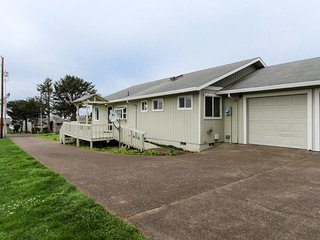 Accessible home w/ deck & prime in-town location - walk to beaches, parks & more