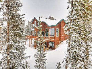 Upscale 3BR w/ Mountain Views & Private Hot Tub - Drive Minutes to Skiing