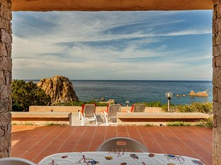 Villa Topazio with amazing sea view and 100 mt. far from the sea