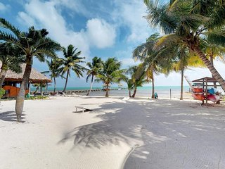Caribbean waterfront condo w/ shared pool & dock - walk to the beach