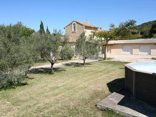 liday countryside cottage in Venejan near the Ardeche canyon, Gard