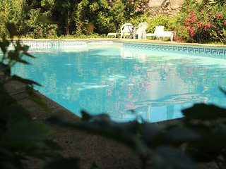 Holiday house in the Gard with nice park, swimming pool, pets allowed