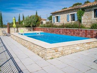 Casa de vacaciones con piscina privada en Orgnac-l'Aven, en Ardèche