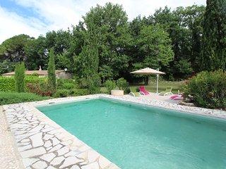 Casa de vacaciones cerca de Vaison-la-Romaine, Vaucluse, piscina