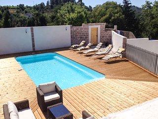 Masia de vacaciones en Languedoc cerca de Beziers, acceso privado rio