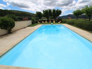 Mas con caracter con vistas a Vaison-la-Romaine, piscina, perro permitido