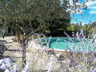 Casa de vacaciones en Saint-Didier, Vaucluse, piscina privada