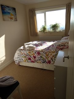 Front double bedroom with sea views