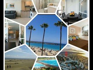 Best location playa Ingles 500mt of Dune Beach wifi free Residential district 8