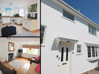 Spacious 3 bed NR the River Gannel & Pentire, Fistral beach/town walking distanc