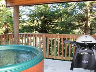 Hot Tub! West Wind Cottage by Natural Elements Vacation Rentals