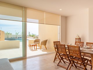 Wonderful two-bedroom condo apartment with ocean view