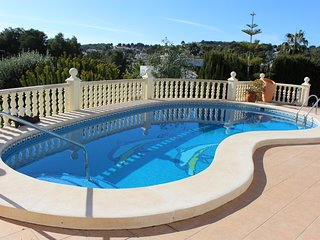 Luxury 2 bedroom Casita in Moraira with private pool ,walking distance to sea