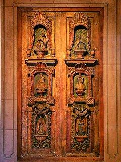 Antique Chapel Doors from a historic Hacienda