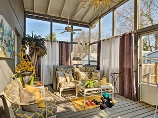 Chic Home w/Deck-Walk to Shops+Historic Louisville
