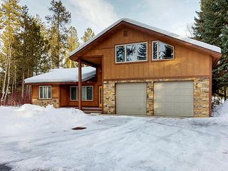 Large home is near the beach, golf, and downtown - walk to Payette Lake