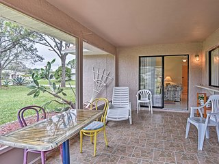 NEW! Cozy 3BR Palm Bay Home w/Screened-In Lanai!