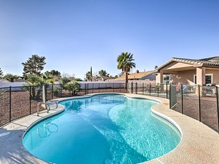Updated Las Vegas House w/Patio, Solar Heated Pool