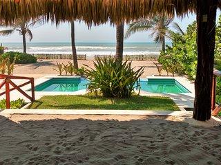 Casa Playa Encantada iii Como En Casa...Pero, Con Playa Y Fogata Gratis...!!!