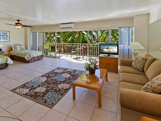Beachfront Luxury Condo at the Waikiki Shore.