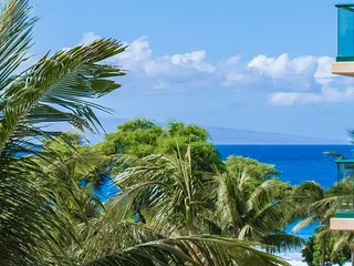 Maui Resort Rentals: Honua Kai Hokulani 418 - Great Value 1BR w/ Partial Ocean &