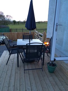 BBQ on the decking