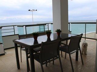 Amplio  apartamento con amplias terrazas primera linea de mar
