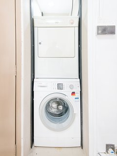 Washer & dryer on lvl 2