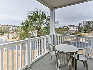 North Myrtle Beach Condo w/ Saltwater Pool Access!