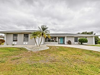 NEW! Waterfront 3BR Home w/Dock near Punta Gorda!
