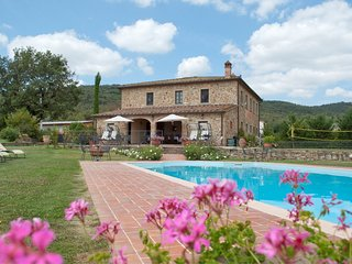 8 bedroom Villa in Oliveto, Tuscany, Italy : ref 5490339