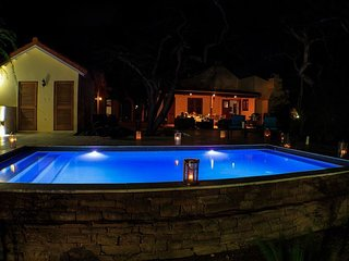 Pool at night  Amazing atmosphere
