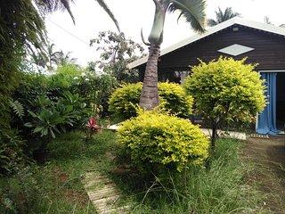 Tampon - Belle villa meublée en bois, au charme exotique, pour 6 personnes