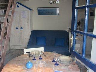 Atypique maison de pêcheur- 200m du Golfe du Morbihan 2-3 personnes