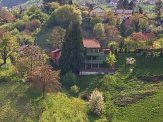 Peaceful retreat located amongst beautiful vinyards, close to Zagreb.