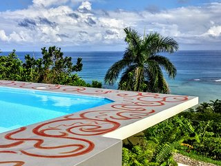 Sandy's Ocean View.  30min Ocho Rios 9- 10 bdrm options