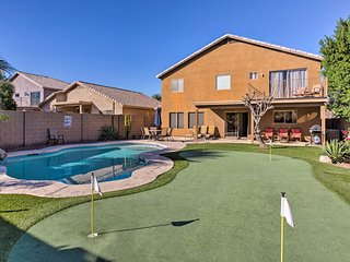 NEW! 5BR Phoenix Home-Private Pool & Putting Green